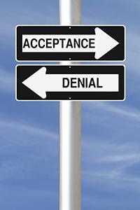 Acceptance or Denial